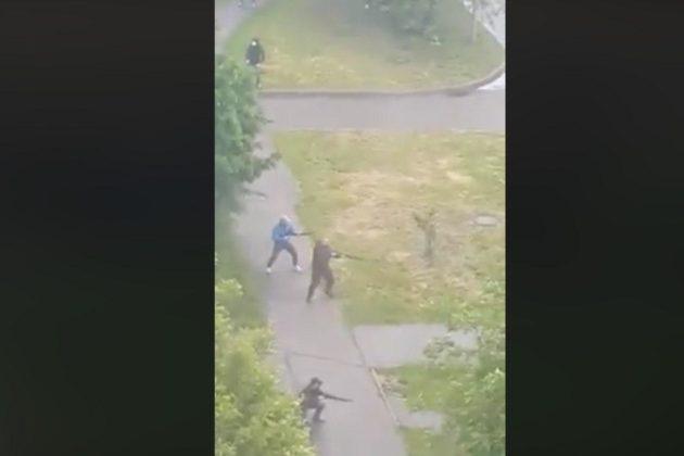 Стрілянина в Броварах – перевізники з автоматами вийшли на вулиці та влаштували розбірки