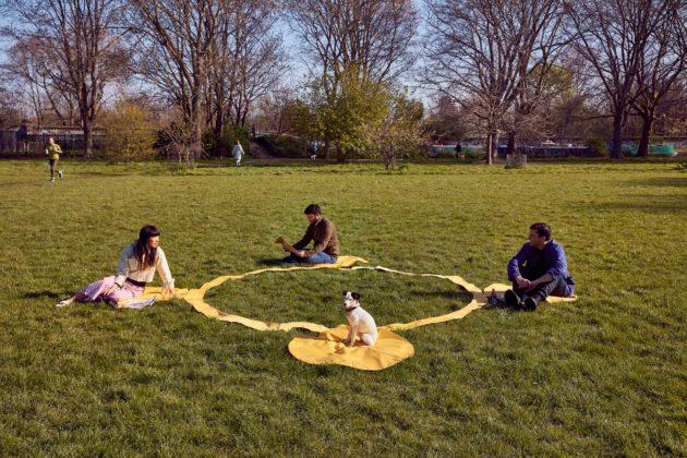 Сонячна ковдра, що допоможе дотримуватись дистанції та спілкуватись з друзями