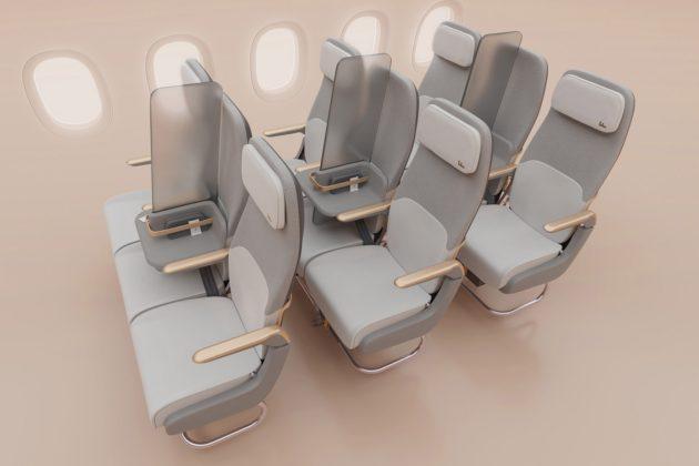 Безпека в літаках – рішення дизайнерів (ФОТО)