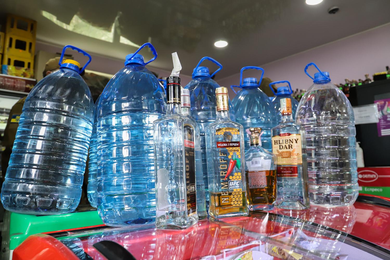 Наливайка магазин алкоголь проверка