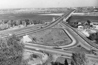 Мости та сходи – Київ у 40-50 роки ХХ століття