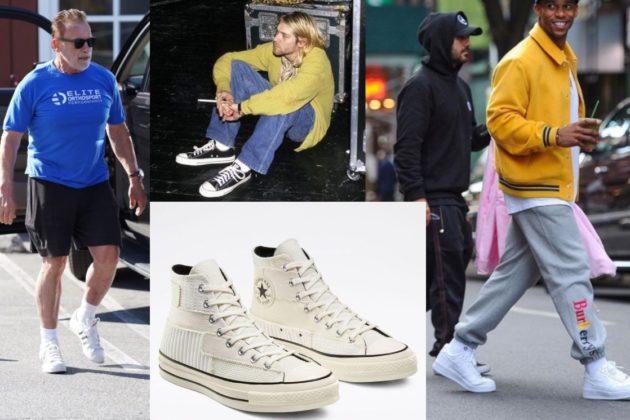 Кросівки на літо для чоловіків у місті – ТОП-3 від Adidas, Nike і Converse
