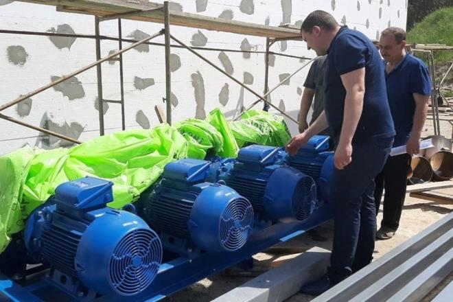"""В Ірпені будують нову станцію очистки води з насосами-""""мерседесами"""""""