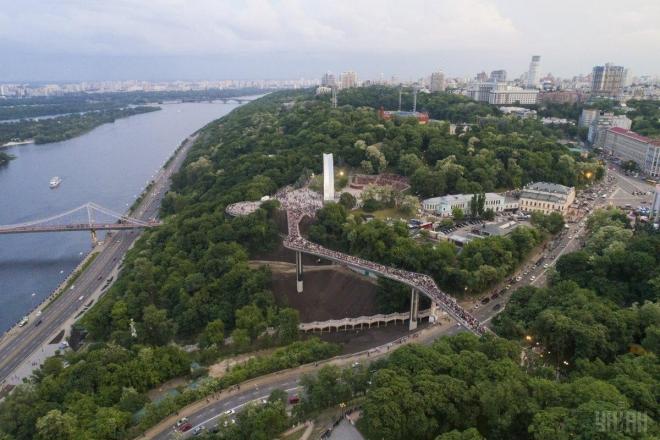 На Володимирській гірці хочуть звести готель – місто подасть до суду на забудовника