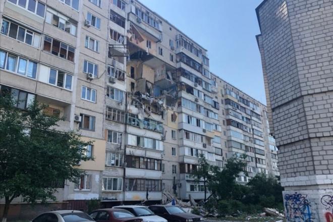 Дві версії вибуху багатоповерхівки у Києві