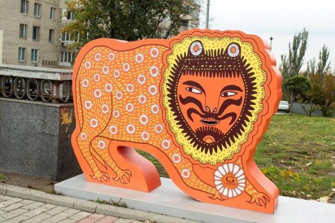 На Банковій відкриють дитмайданчик, оформлений за мотивами творів Марії Примаченко
