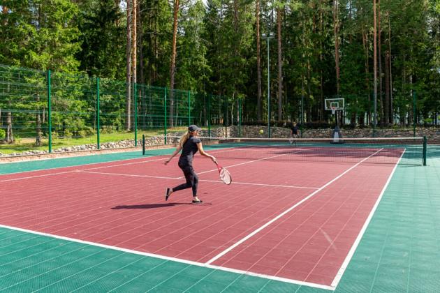 4 тенісні корти облаштують в Оболонському районі