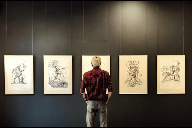 На виставку Сальвадора Далі треба йти всім. У Київ привезли геніальні картини – репортаж