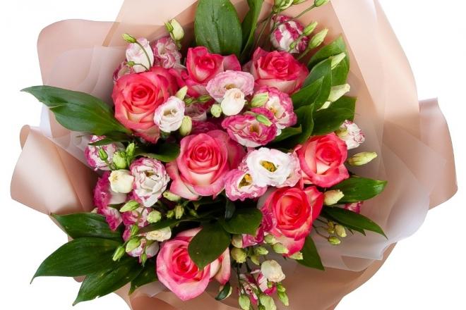 Феєрія троянд від флористичного бутіка «Діцентра»
