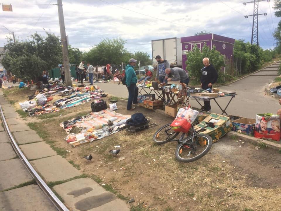 петропавлівська площа, блошиний ринок