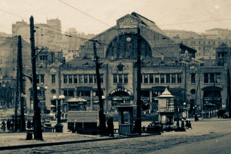 Бессарабський ринок – історія будівництва Бессрабського ринку — пам'ятник Хмельницькому на Бесспрабці — Бессарабка