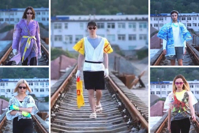 Одяг із сміттєвого бачка: київська дизайнерка створила модну колекцію з відходів (фото)