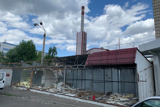 29 незаконних споруд демонтували в Києві за тиждень (АДРЕСИ)