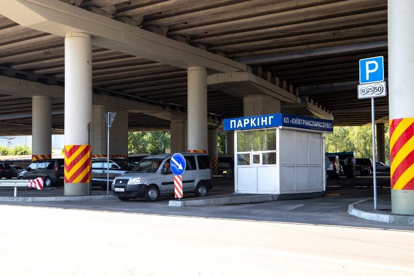 Перехватывающая парковка Выдубичи