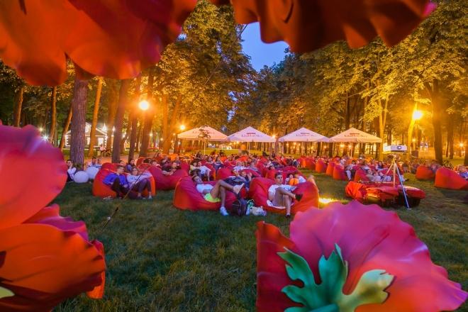 В парку Шевченка відкривається літній кінотеатр українського кіно