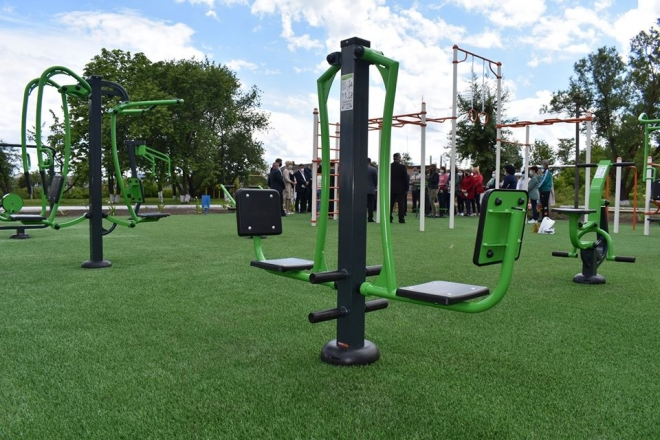 У Володарці з'явиться новий мультифункціональний спортивний майданчик
