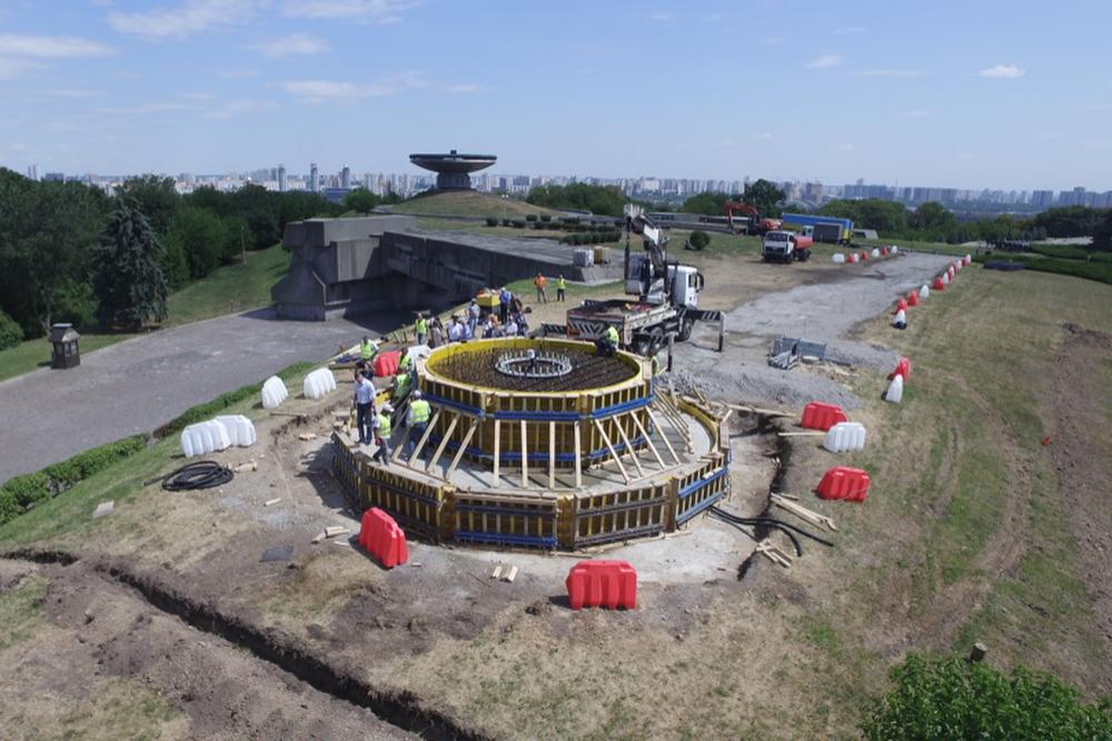 Строительство Флагшток Печерск