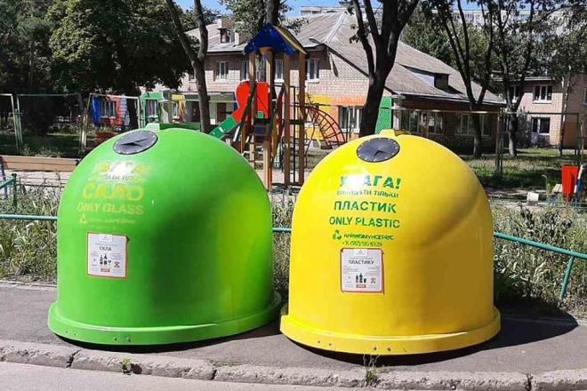 В Шевченківському районі встановлять понад сто контейнерів-дзвіночків