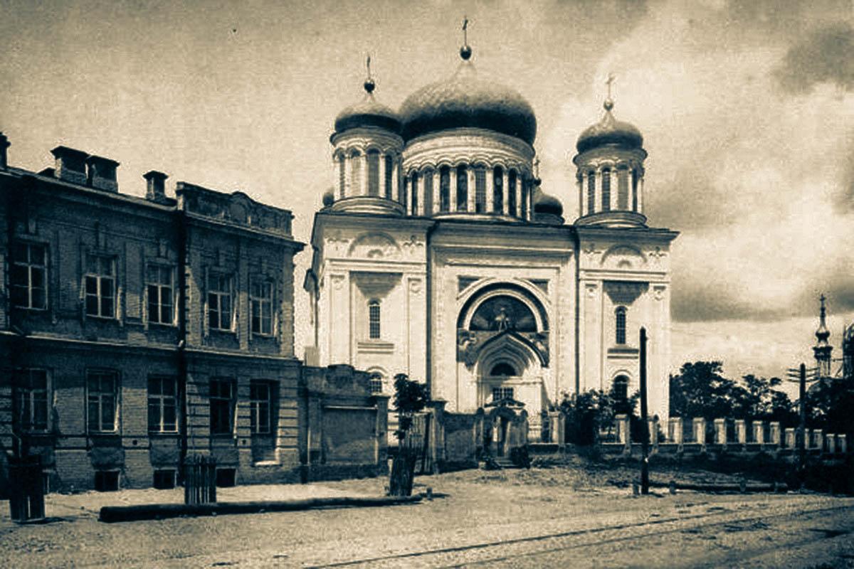 Київ, якого більше немає – утрачений Київ – зруйнований Київ – Десятинна церква