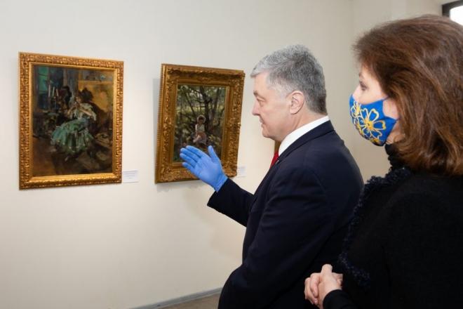 Апеляційний суд скасував арешт картин родини Порошенків