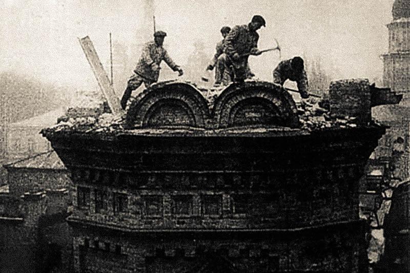 Зруйновані храми Києва – безбожна п'ятирічка - Трьохсвятительська церква
