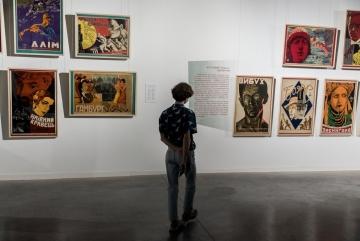 В Довженко-центрі відкрилася виставка рідкісних кіноплакатів 1920-30-х років (ФОТО)
