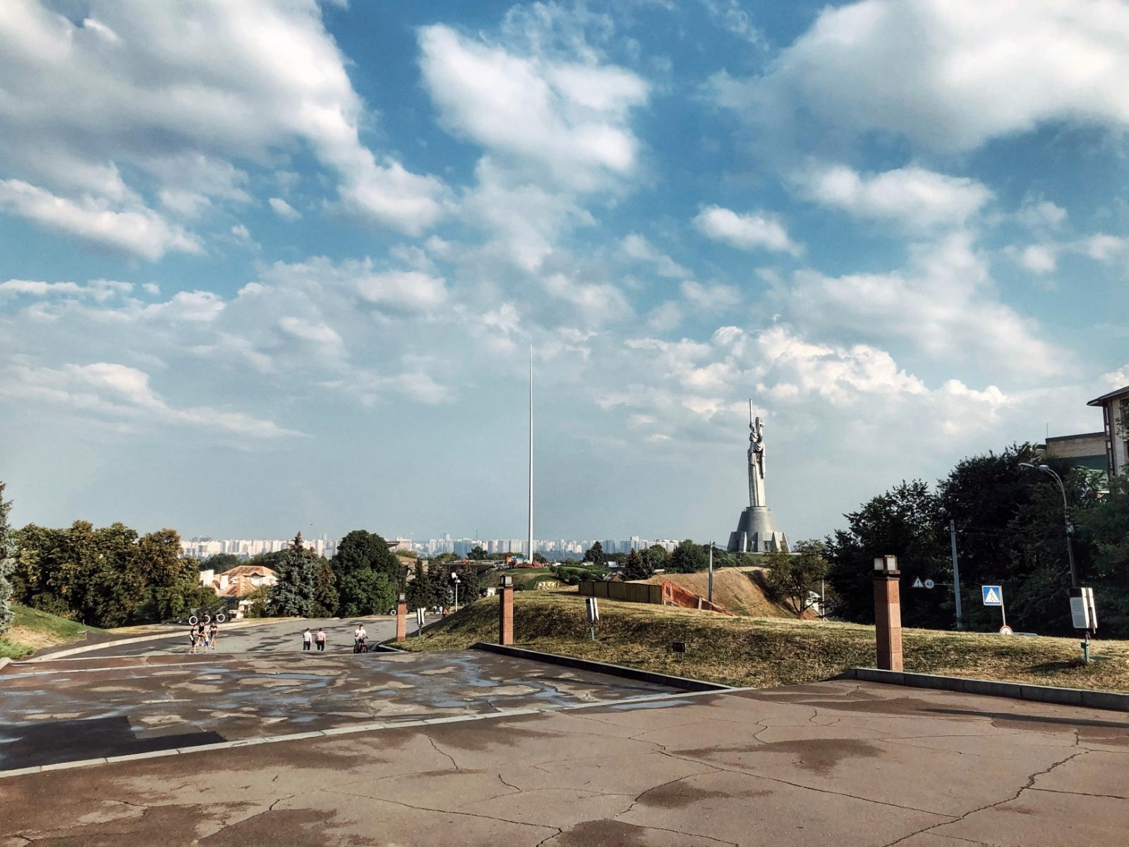 Флагшток Киев