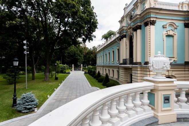 Резиденція президента у Маріїнському палаці відкривається для екскурсій (ФОТО)