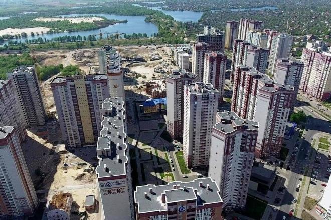 Стало відомо де у минулому році збудували найбільше житла