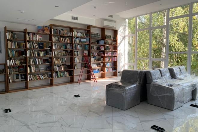 Новий бібліохаб на Нивках майже готовий – як він виглядає
