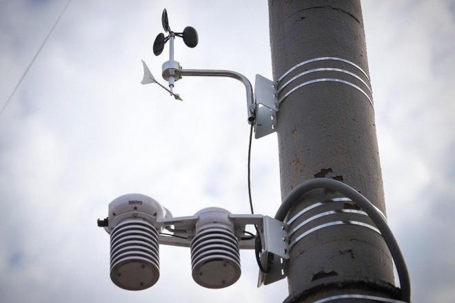 Погодні примхи більше не страшні: нові метеостанції попереджатимуть комунальників про негоду