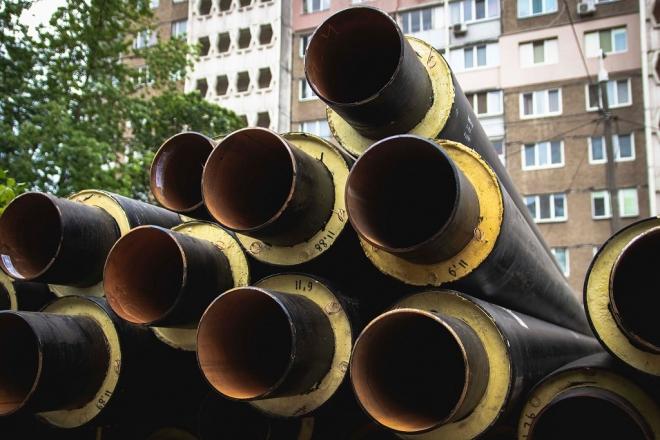 На проспекті Маяковського замінили 2,5 км аварійних тепломереж на нові. Гарантія – 50 років