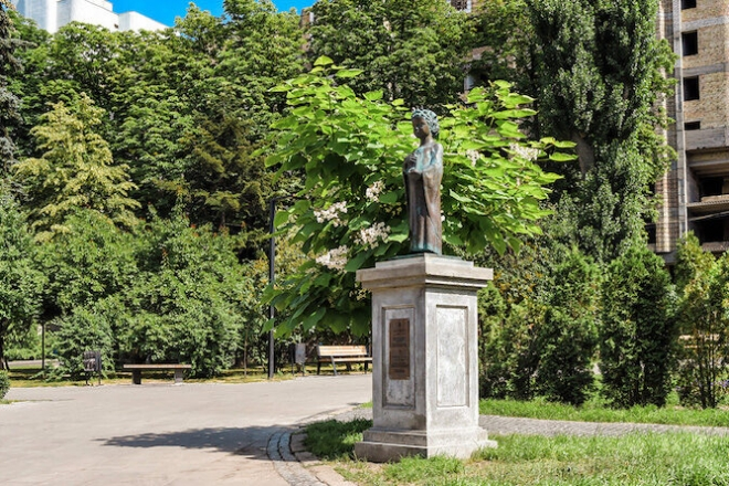 Сквер у центрі міста назвали іменем Анни Київської