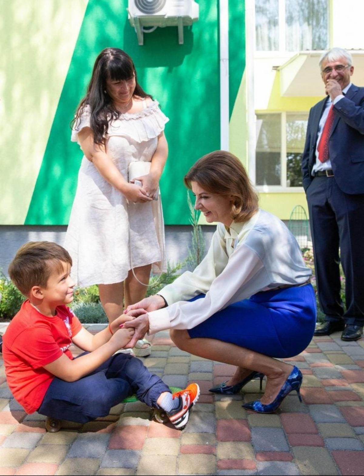 Марина Порошенко і діти