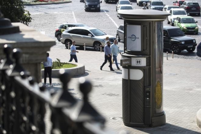 Сходити в автоматизовану вбиральню в Києві стало вдвічі дорожче