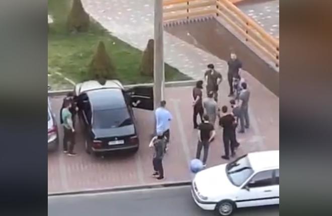 В Українці кілька людей влаштували в ресторані стрілянину. Докази прибрали (ВІДЕО)
