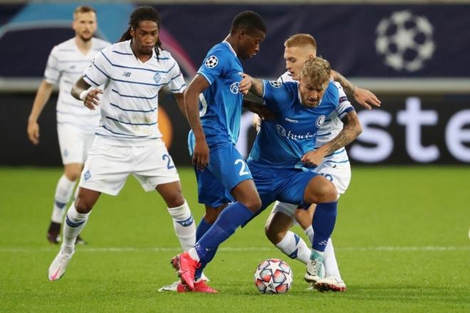Ліга чемпіонів: «Динамо» перемогло на виїзді бельгійський «Гент»