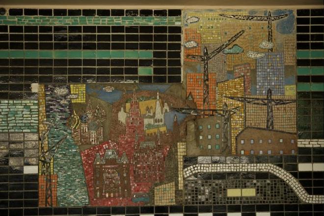 На центральному автовокзалі збережуть радянську мозаїку під час реконструкції