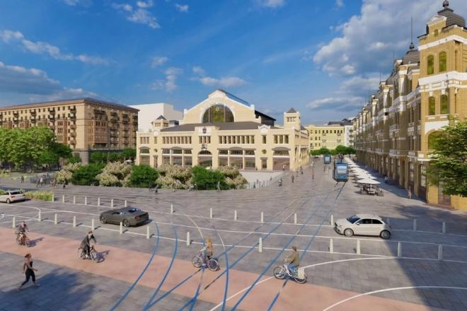 Річка, зелень та трамваї. Якою може бути Бессарабська площа (ФОТО)