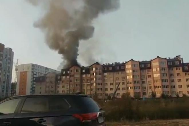 Вересень горить. Ще одна пожежа спалахнула під Києвом