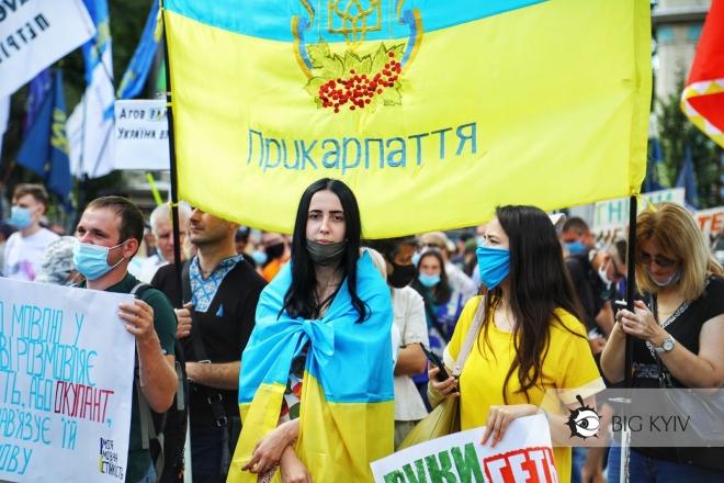 Права російськомовних порушуються? Що про це думають українці – статистика