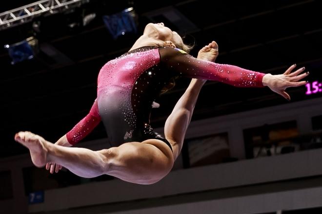 У Києві стартував Міжнародний турнір зі спортивної гімнастики. Вхід вільний