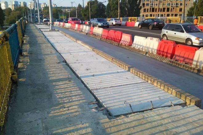 На Повітрофлотському мосту розпочався новий етап ремонту – що зроблять