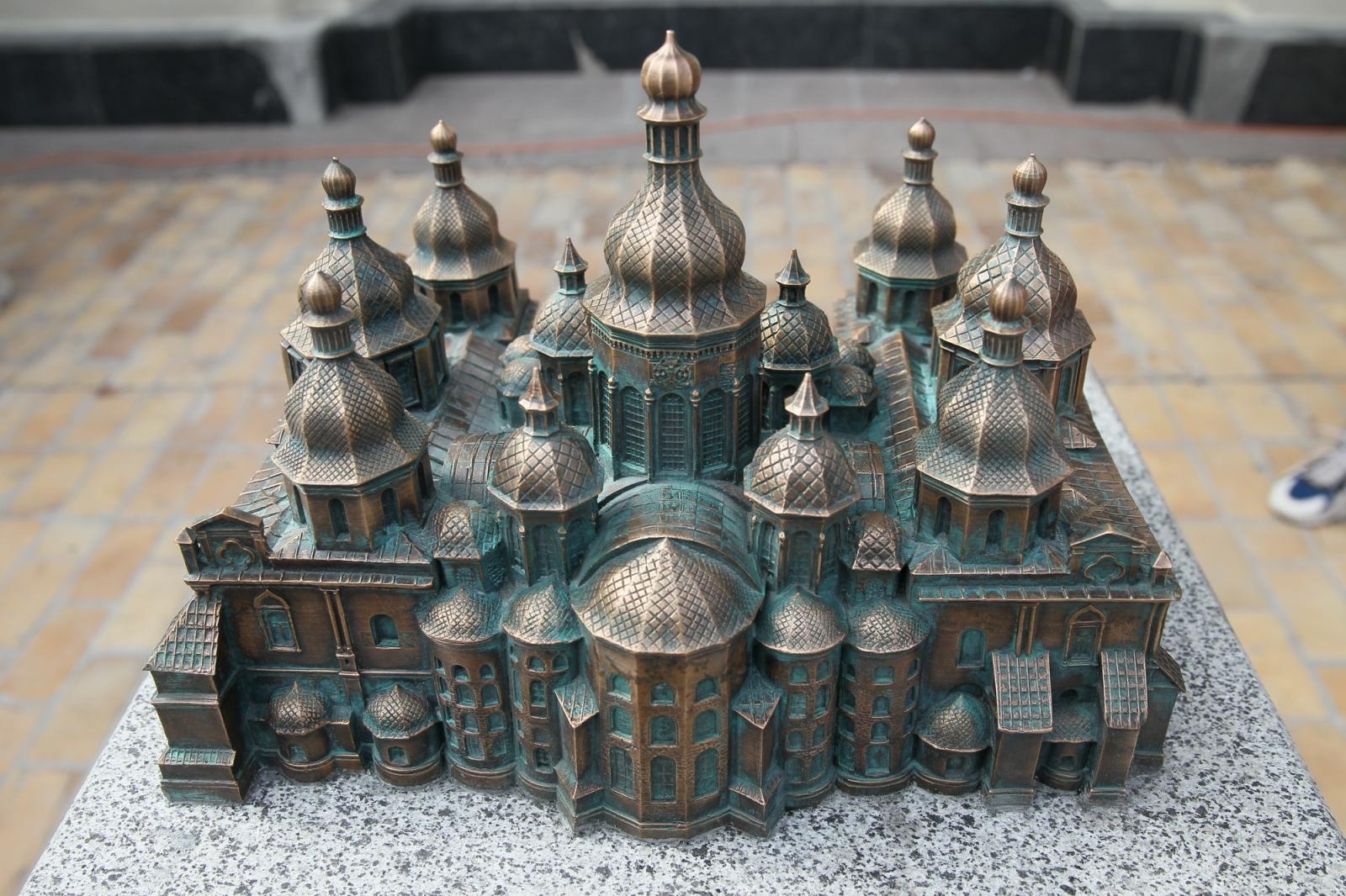 3d-модель Софийский Собор