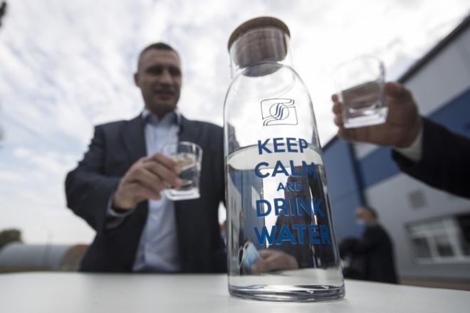 У Києві 40% води очищають та знезаражують, як в європейських країнах