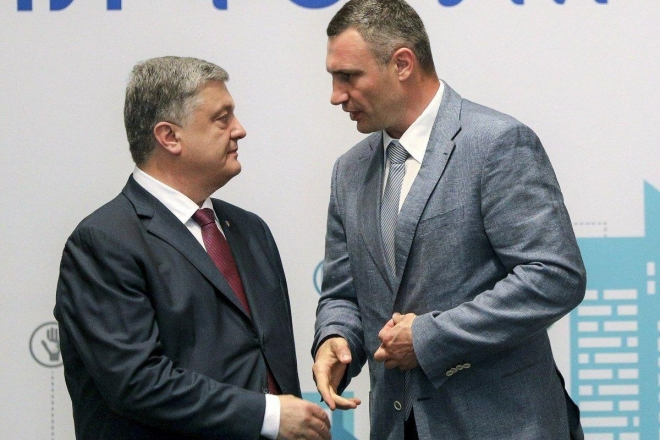 Якщо об'єднаються. Кличко й партія Порошенка отримають більшість у Київраді