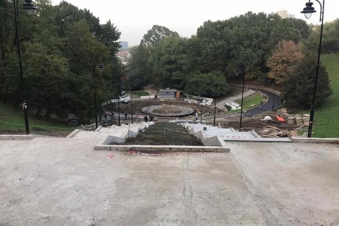 Реконструкція Солом'янського парку: як просуваються роботи