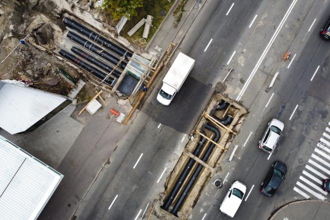 40 аварій за 5 років. Як реконструюють магістральний трубопровід на Набережно-Луговій