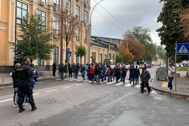 Одоробло на Печерську: чому кияни блокують вулицю Московську? Нова скандальна забудова в центрі Києва