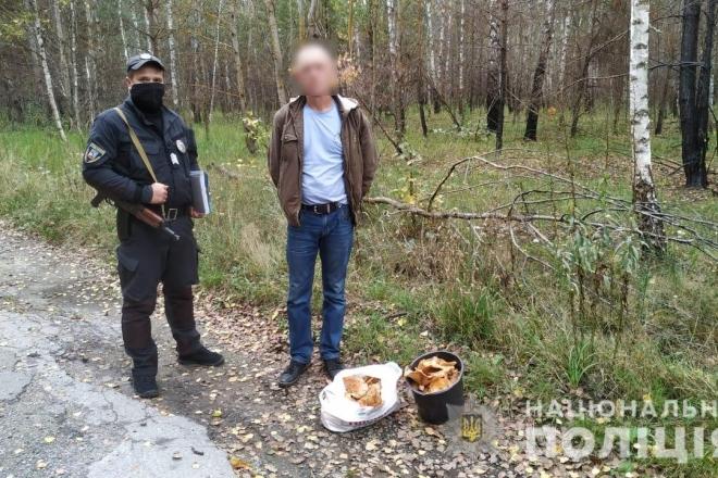 З зони ЧАЕС намагались вивезти 7 кг отруйних грибів